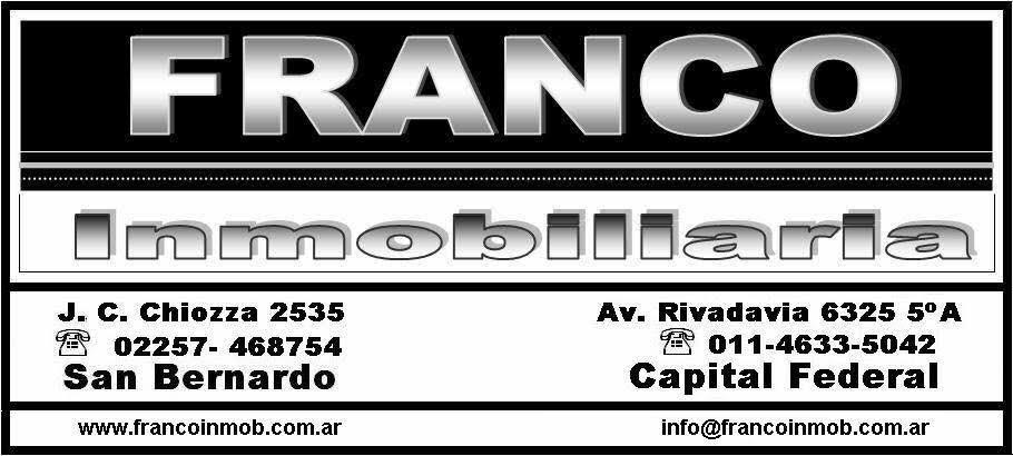Logo de  Franco Inmobiliaria
