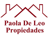 Logo de  Paola De Leo Propiedades