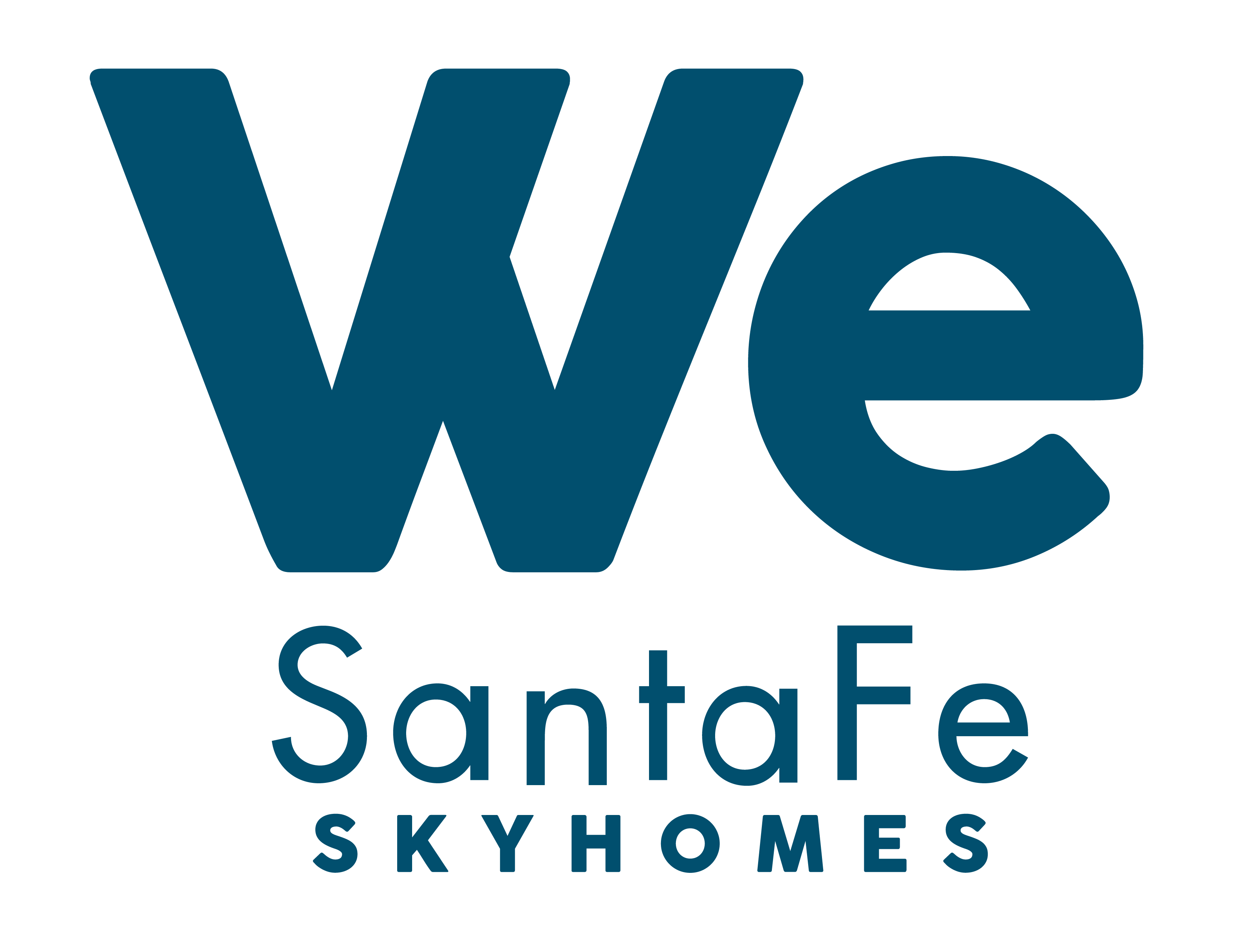 Logo de  We Santa Fe Sky Homes